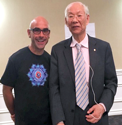 Dr. T. Sundar Sanchez with Professor Ming Qing Zhu, L.Ac, is the developer of Zhu Scalp Acupuncture technique.